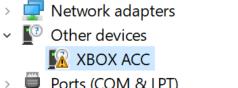 xbox controller receiver driver problem